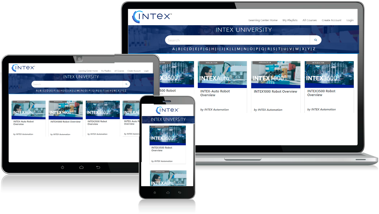 Intex Learning Center Example