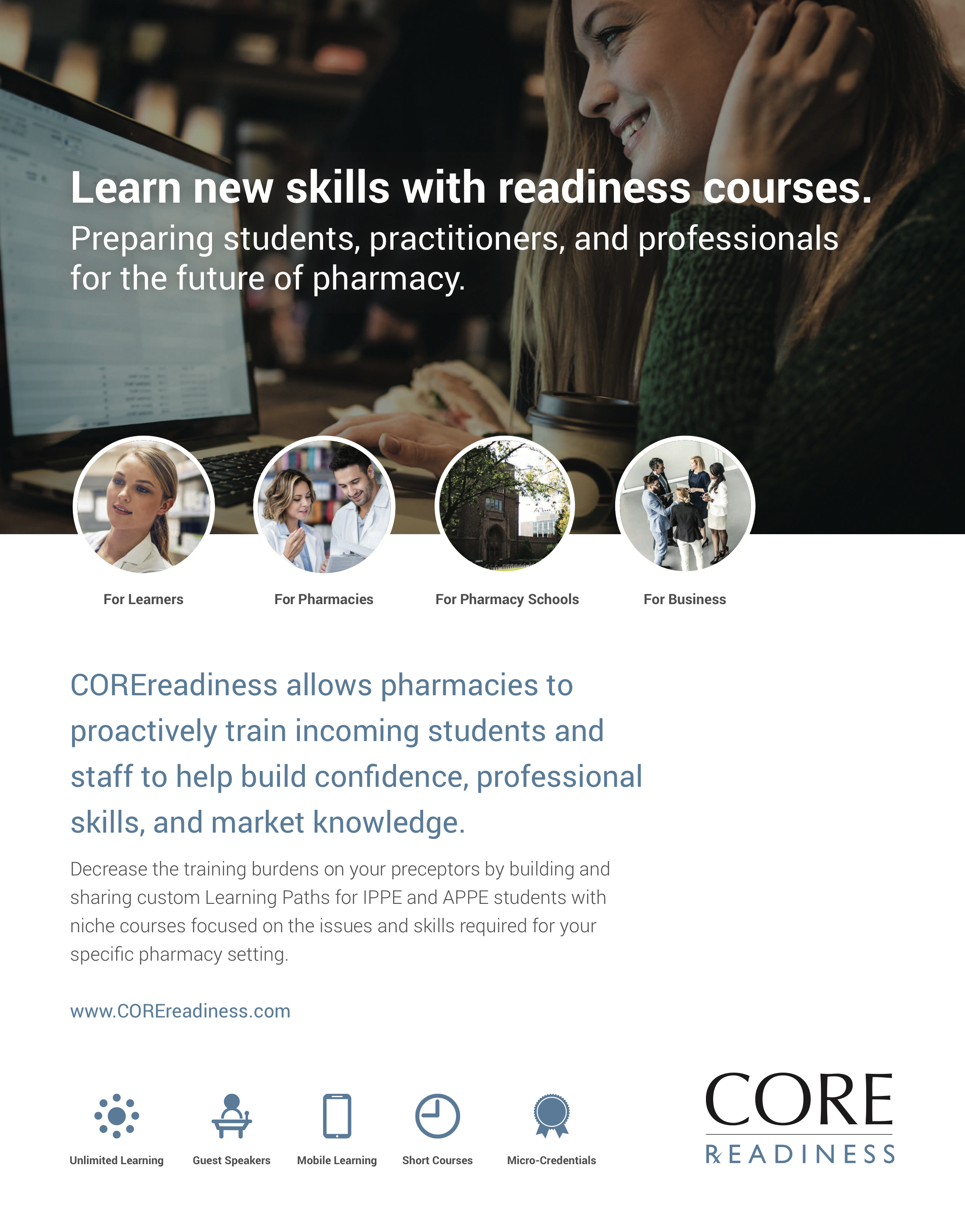 COREreadiness 20Ways Profile
