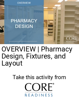 corereadiness pharmacy design fixtures and layout an overview